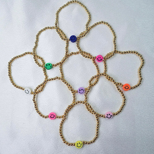 Paisley Smiley Bracelets