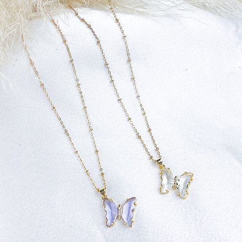 Flutter And Fly Necklaces