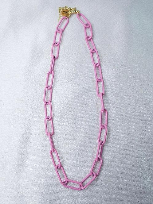 Baby Pink Chain Choker