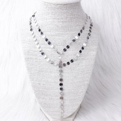Silver Sequin Elegance