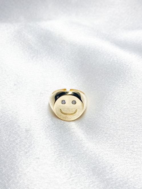 Smiley Miley Ring