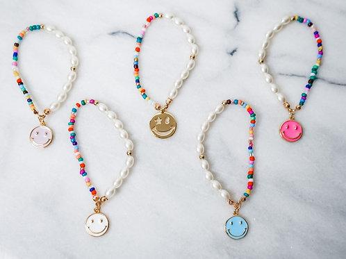 Summer Smiley Bracelets