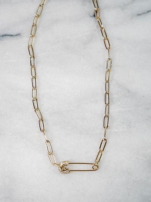 Clip On Necklace