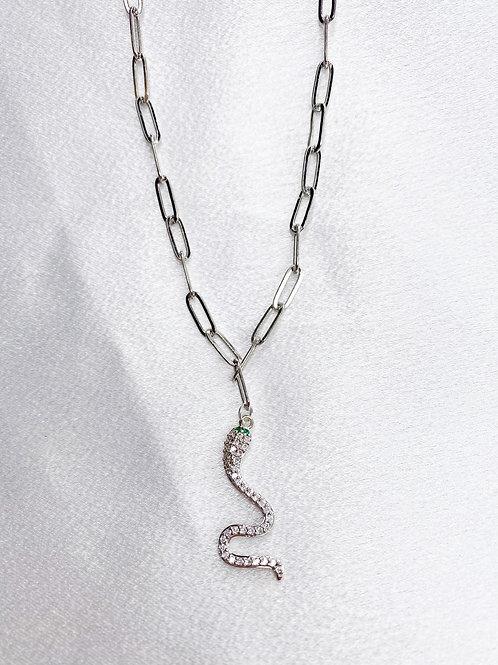 Olivia Snake Necklace