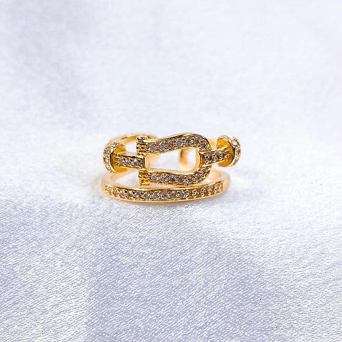 Loops Of Love Ring