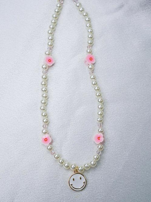 Blossom Smiley Necklace