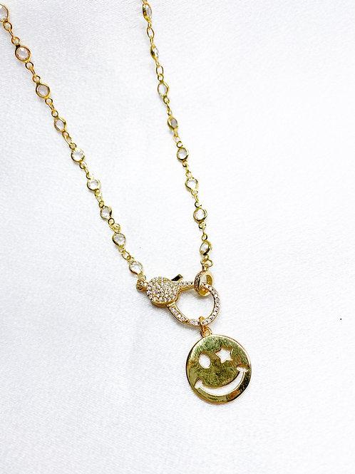 Diamond Smile Necklace