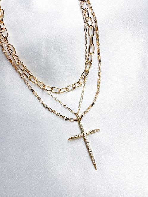 Gold Cross Set