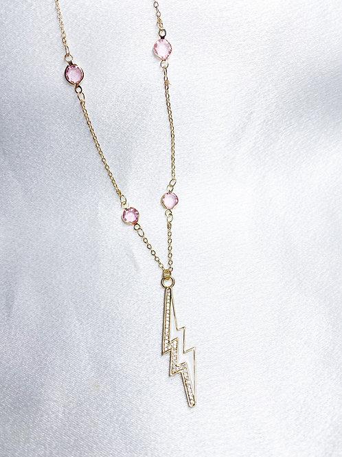 Pink Diamond Lightning Bolt Single