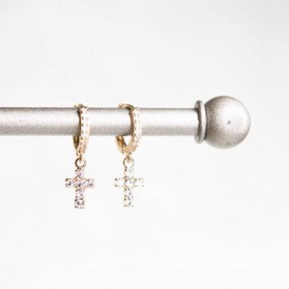 Grace Huggie Hoops (Gold or Silver)