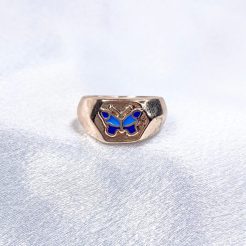 Wings Of Gold Ring