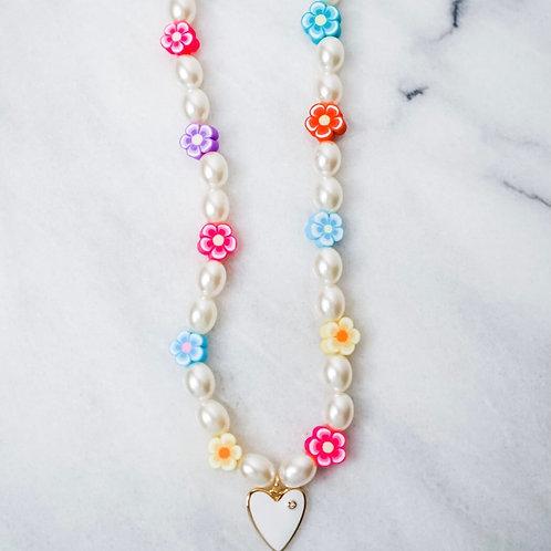 Beach Candy Heart Necklace