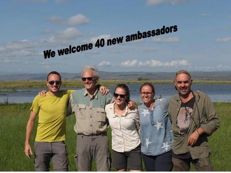 40 nieuwe ambassadeurs!