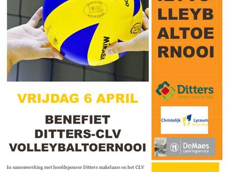 2e Benefiet Ditters-CLV volleybaltoernooi