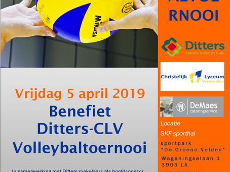 3e Benefiet Ditters-CLV volleybaltoernooi