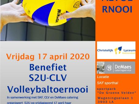 Benefiet S2U-CLV volleybaltoernooi 2020