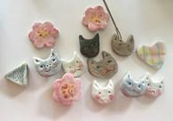 猫ちゃんの帯どめシリーズ