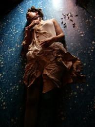野原のドレス