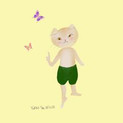 ドレスのような蝶々の羽。Butterfly wings are like a dress.