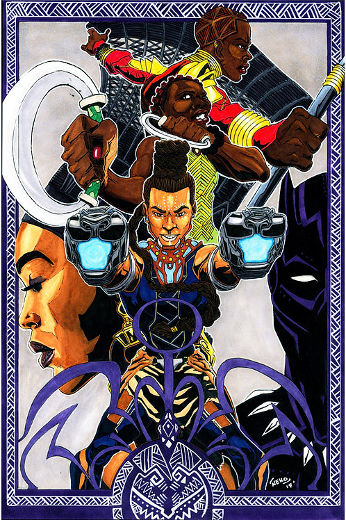 """Women of Wakanda"" Print"