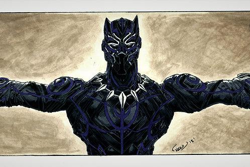 """Black Panther/T'Challa"" (Jumpman Wingspan)"