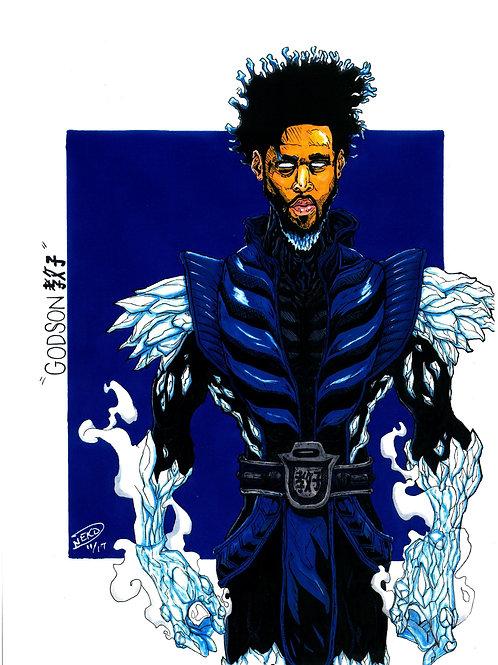 """Godson"" (J.Cole/Sub Zero) Print"