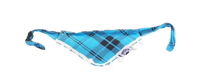 Bandola Tender azul / rayas