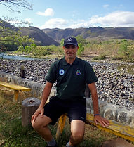 Coordinator Henry Soriano in Somoto Canyon Tours shirt