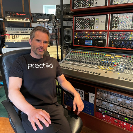 Mr Firechild Installs a Neve® 8424 Console in his Swedish Studio