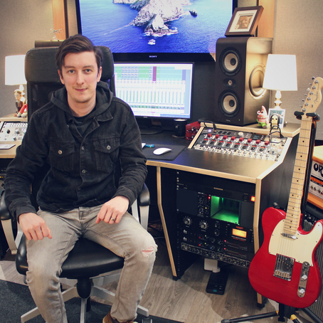 Producer/Songwriter Gareth Nuttall Streamlines His Workflow with a Neve® 1073OPX