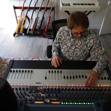 Brian Alston Upgrades his Studio with a Neve 8424 Console