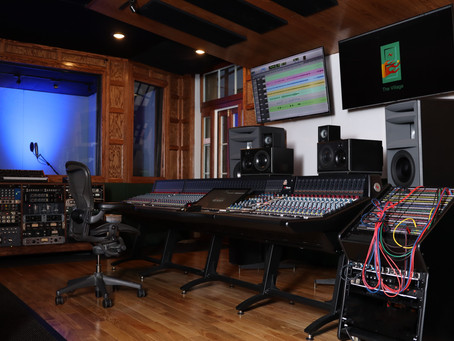 The Village Studios Embraces the future with a Neve® Genesys Black Console