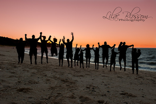 Extended family sessions are always fun to do, especially on the beach