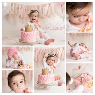 Cake smash photos mark the 1st year milestone