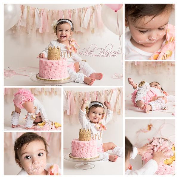 cake smash, first birthday cake smash, baby cake smash, in home cake smash, first birthday picture