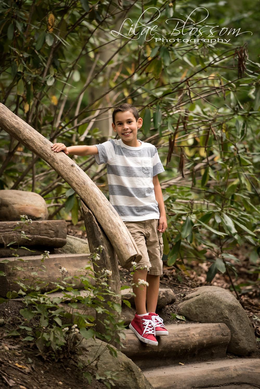 2 boys portraits on Long Island