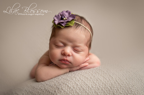 Newborn baby pictures in your home