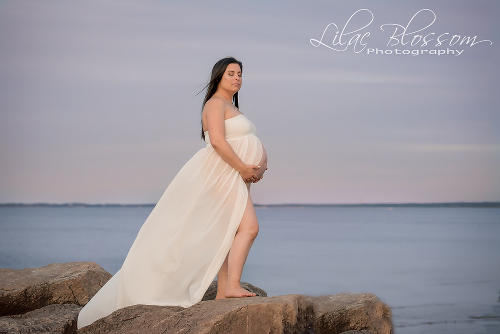 image of maternity photo