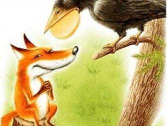 Ворона и лисица. Премьера!