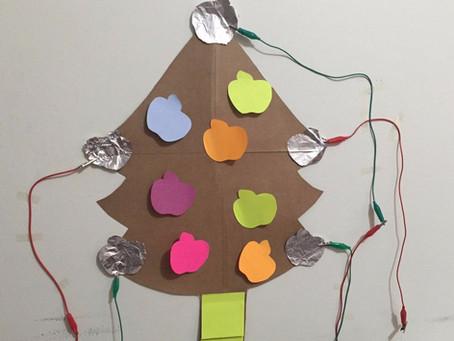 Árvore de natal interativa