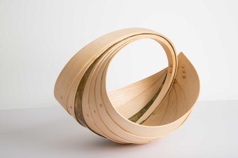 Trug Vessel by Jane Crisp