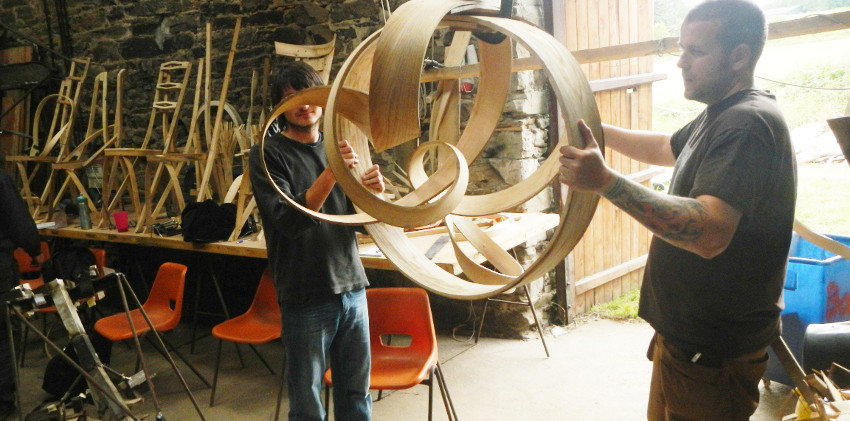 charlie whinney steam-bending course 201