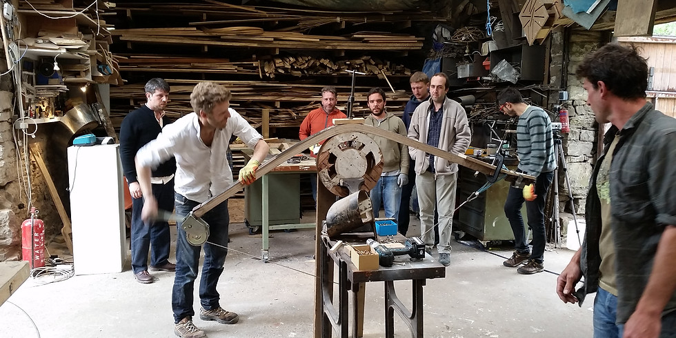 31st July - 2nd August 2021 - The 3 Day Pro Steam Bending Course - Cumbria