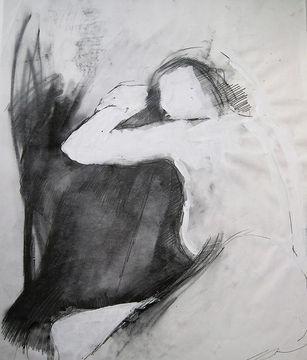 Life study 02 graphite and paint.jpg