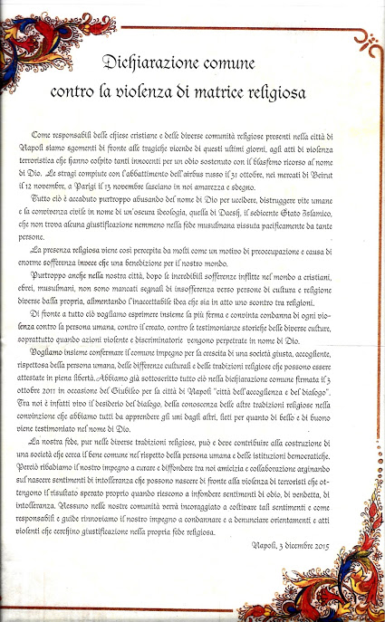 dichiarazione comune contro la violenza di matrice religiosa fronte.jpg