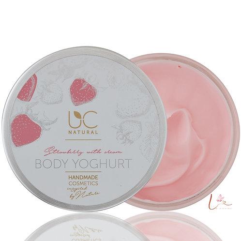 Body Yoghurt Aardbeien Met Room