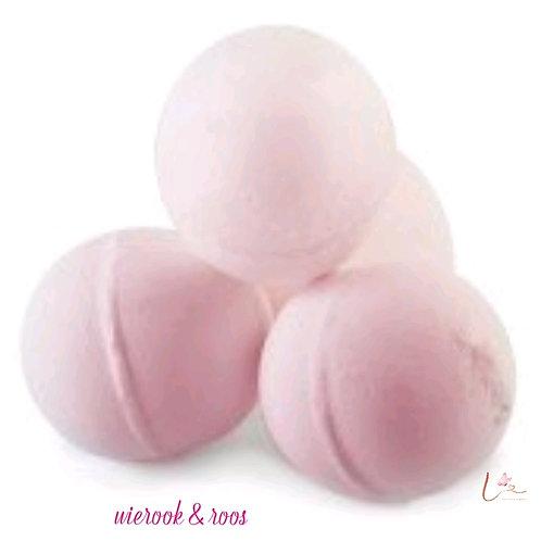 Aromatherapie bruisbal - wierook & roos