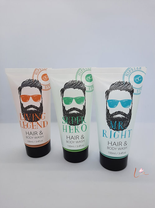 Hipster Style hair & body wash (100ml)