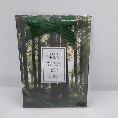 Geurzakje Scented Home White Cedar & Bergamot