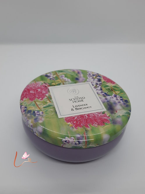 Geurkaars Scented Home Lavendel & Bergamot (230g)